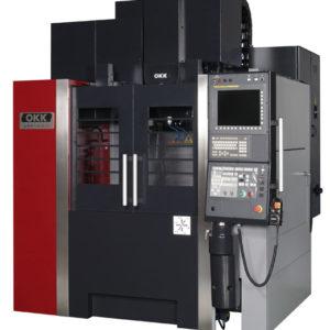 OKK VM43R - Kompakt CNC függőleges megmunkáló központ
