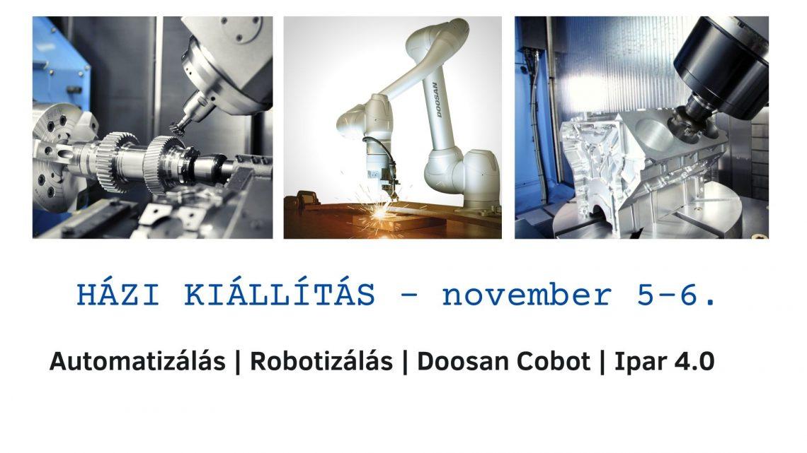 HÁZI KIÁLLÍTÁS - november 5-6.